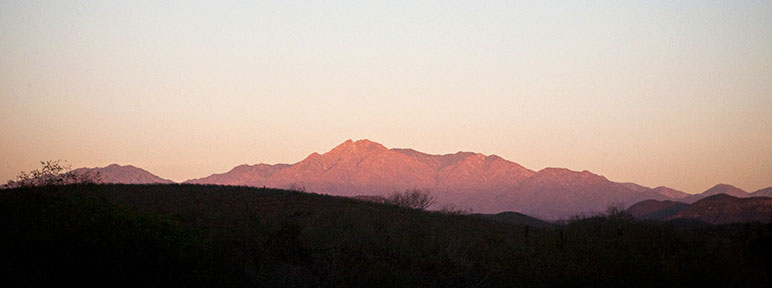 Baja Mountain Range